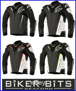 10% OFF Alpinestars Atem v3 Moto Cuir Certifié Ce Sports Veste
