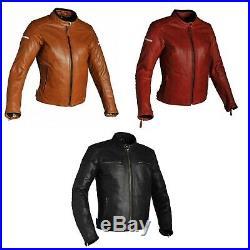 30% OFF Richa Femme Daytona Buffalo Cuir Rétro Vintage Veste Moto