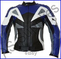 ALPHA neXus Veste de Moto en Cuir Blouson Motard Toutes tailles