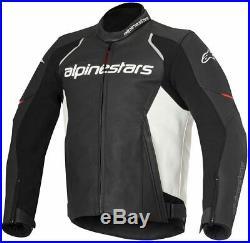 Alpinestars Devon Veste en Cuir Moto Hommes Taille 52