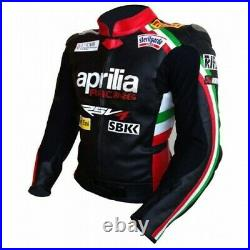 Aprilia Moto Costume En Cuir Moto Veste En Cuir Motards courses Pantalon