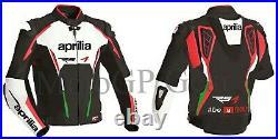 Aprilia Moto Costume En Cuir Moto Veste En Cuir Motards courses Pantalon Jacket