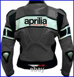 Aprilia Neu Costume En Cuir Moto Veste En Cuir Motards courses Pantalon Leather