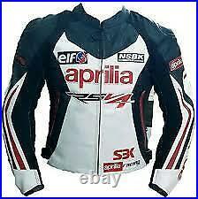 Aprilia RSV4 Costume En Cuir Moto Veste En Cuir Motards courses Pantalon Leather