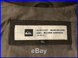 BLOUSON QUIKSILVER CUIR Taille XL