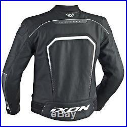 BLOUSON VESTE JACKET HOMME IXON FIGHTER cuir leather taille M