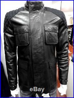 BLOUSON / VESTE en cuir CAVALLI CLASS Taille50 ModèleECJMB9P3 ZAKARIA 031