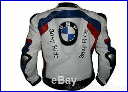 BMW 3asy Ride Veste en Cuir Motard Veste en Cuir de Moto Veste de Motard en Cuir