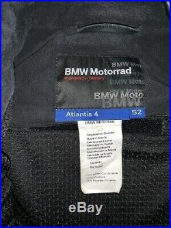BMW Blouson de Motard Moto Veste en Cuir Atlantis 4 Hommes