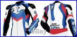 BMW Hommes Moto Veste En Cuir Giacca di pelle Moto Motocicleta Chaqueta de cuero