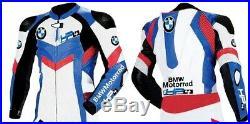 BMW S1000RR HP4 Moto Veste en Cuir Courses MOTOGP Vestes de Motard en Cuir CE
