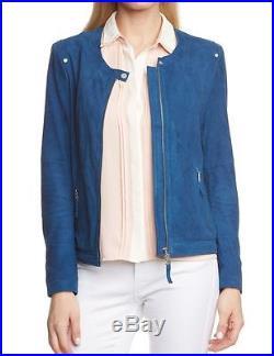 BOGNER Jeans Ellen VESTE EN CUIR POUR FEMME / blouson, Taille S, M, L, XL WOW