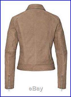 BOGNER Jeans LIZ Veste en cuir / Blouson motard, Gr. S, M, L, XL WOW