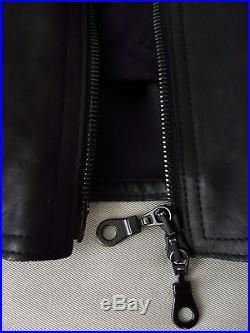 BRICE BERGER TOLUB Veste blouson cuir noir Taille 50