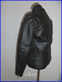 Belstaff Blouson Moto Véritable Hide Cuir Vtg Moto Veste Rare 108cm M