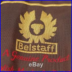 Belstaff Veste en Cuir Gr. De 36 It 42 Beige Veste Femme Cuir Blouson Motard