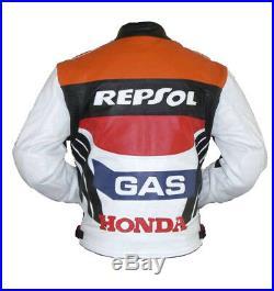 Biker Cuir Veste Vêtement En Cuir Courses Motorbike Moto Cuir Veste Eu 54,60
