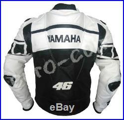 Blanc Vêtement En Cuir Motorbike Biker Cuir Veste Moto Cuir Veste Eu 48-50-60