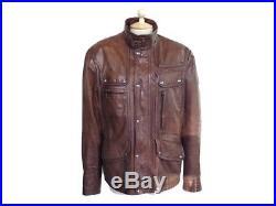 Blouson Belstaff Maple Jacket 71050057 50 L En Cuir Marron Veste Jacket 1350