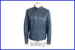 Blouson Colmar Original Garments 52 L Veste Homme Manteau Cuir Bleu Jacket 630