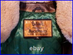 Blouson Cuir Belstaff/black Prince Taille XL