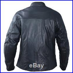 Blouson Cuir Femme Moto Protections CE Veste Vintage Thermique Blanc