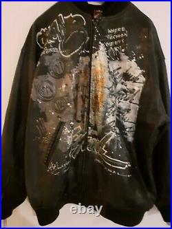 Blouson Cuir Homme Vintage Miskeen Collector