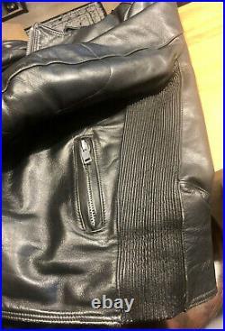 Blouson Cuir Noir Belstaff Taille M