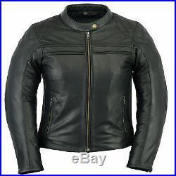 Veste Cuir Moto Femme Leather Jacket Blouson Cuir Lederjacke Catarina Kustom