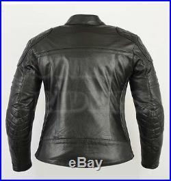 Blouson En Cuir Pour Femme Moto, Veste Moto, Biker Women Jacket, Chopper, Kustom