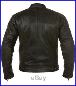 Blouson En Cuir pour Moto Homme, Vintage, Chopper, Biker Veste En Cuir, Taille S-5XL
