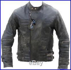 Blouson Moto, Veste, Cuir, Moto, Veste En Cuir Sd502, Gr. 2xl