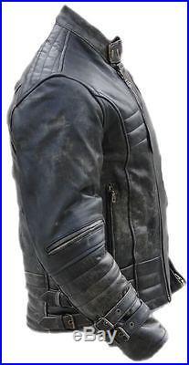 blouson moto veste cuir moto veste en cuir sd502 taille m blouson veste cuir. Black Bedroom Furniture Sets. Home Design Ideas