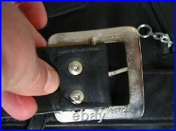Blouson PERFECTO Schott vintage Veste blouson Moto Veste Homme Noir cuir 44