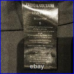 Blouson Perfecto Zadig et Voltaire Cuir Noir taille S
