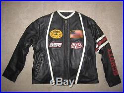 Blouson SCHOTT Perfecto vintage Veste cuir noir BE 12 US (42 Fr)
