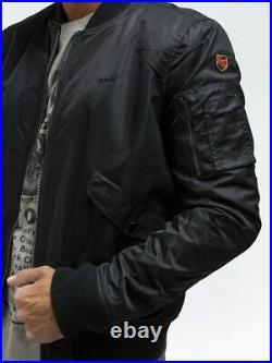 Blouson Schott Jktac Bombers Noir Homme