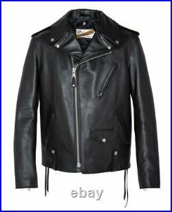 Blouson Schott perfecto us noir original 615 J made in USA