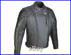 Blouson Soubirac Karl cuir noir Taille XXL
