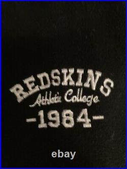 Blouson Teddy cuir vintage Redskins taille L