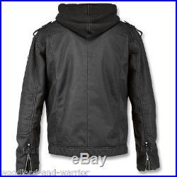 Blouson Veste Brandit Black Rock Hooded Jacket Noir