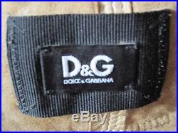 Blouson Veste Chemise Dolce Gabbana T 36 Fr 40 It Cuir D'agneau Tres Souple Ttbe