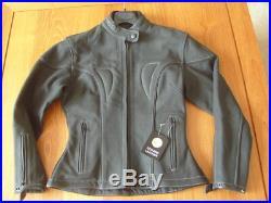 Blouson Veste Cuir Femme Moto Taille 38 S Identifie Igol Neuf Valeur Neuve 400