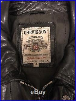 Blouson Veste Cuir Homme CHEVIGNON M 595