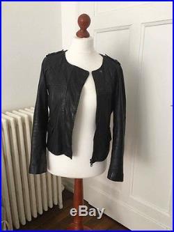 Blouson veste cuir n ora comptoir des cotonniers noire taille m blouson veste cuir - Cuir comptoir des cotonniers ...