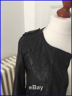 Blouson cuir biker comptoir des cotonniers
