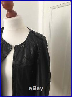 2017 f vrier blouson veste cuir - Blouson cuir comptoir des cotonniers ...