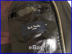 Blouson Veste En Cuir Paul Smith Jeans Taille S