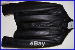 48 Sz Cuir Noir Leather Veste Black Homme Blouson M Dior Jacket xBg8qz
