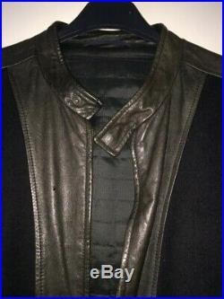 Blouson Veste KENZO en cuir de buffle et feutrine taille M en excellent état